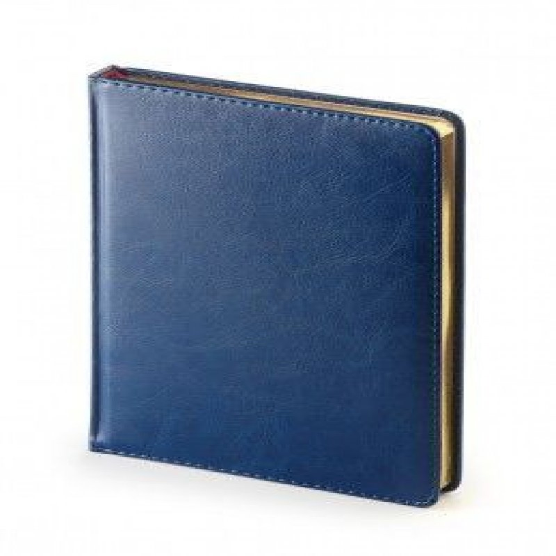 Ежедневник A4 недат Sydney Nebraska синий
