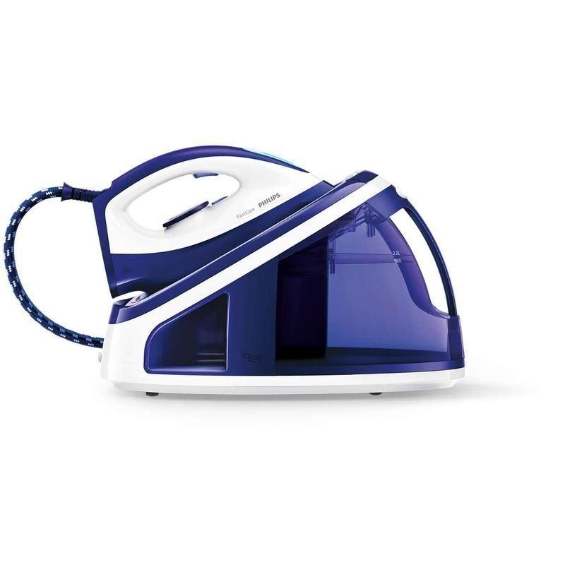 Утюг Philips GC7703/20 2400Вт синий/белый