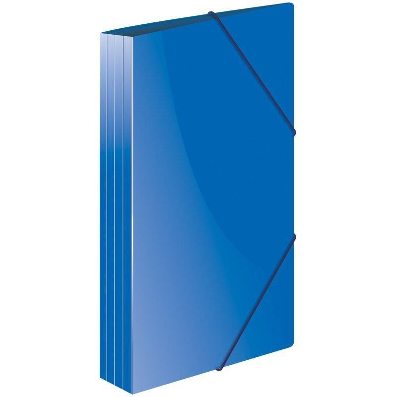 Папка на резинках Berlingo Стандарт А4 0,6мм синяя
