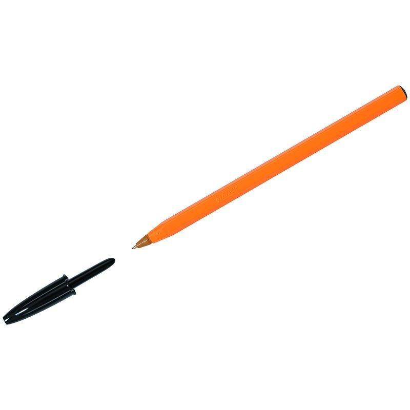 Ручка шариковая Bic Orange 0,8мм оранжевый корпус черная