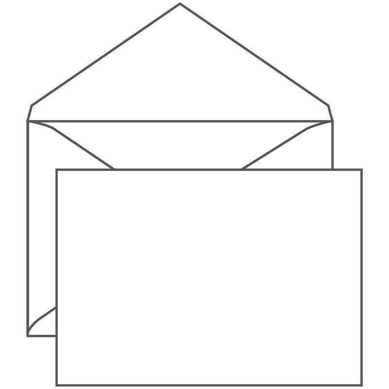 Конверт С4 (229х324мм) белый без клея 100г/м2 треугольный клапан