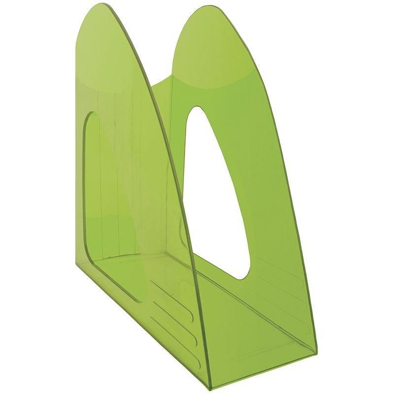Стойка для бумаг Berlingo Mega Top тонированный зеленый