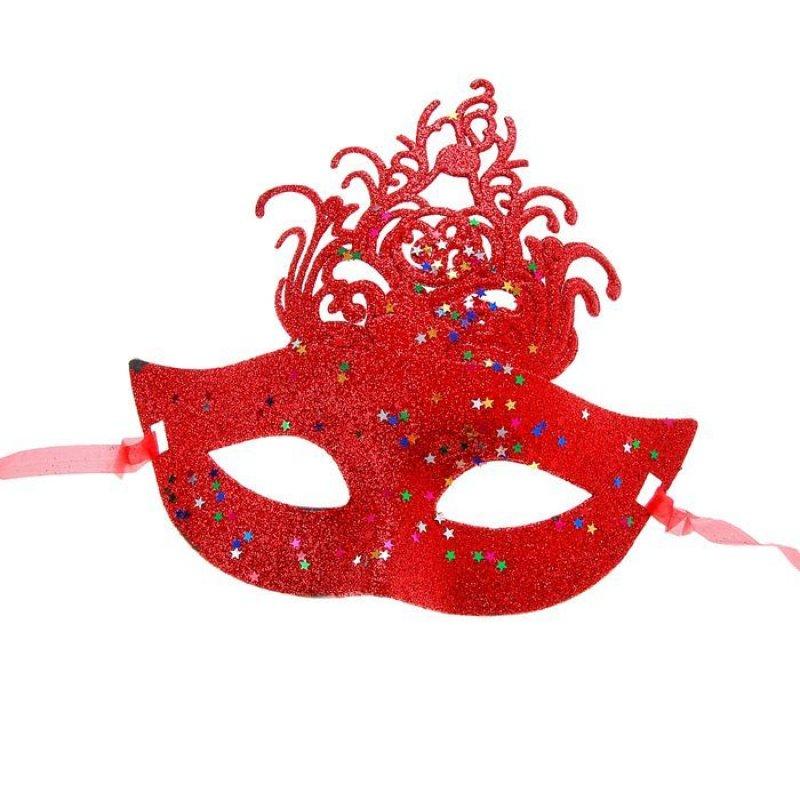 Карнавальная маска Звездная ночь цвета Микс