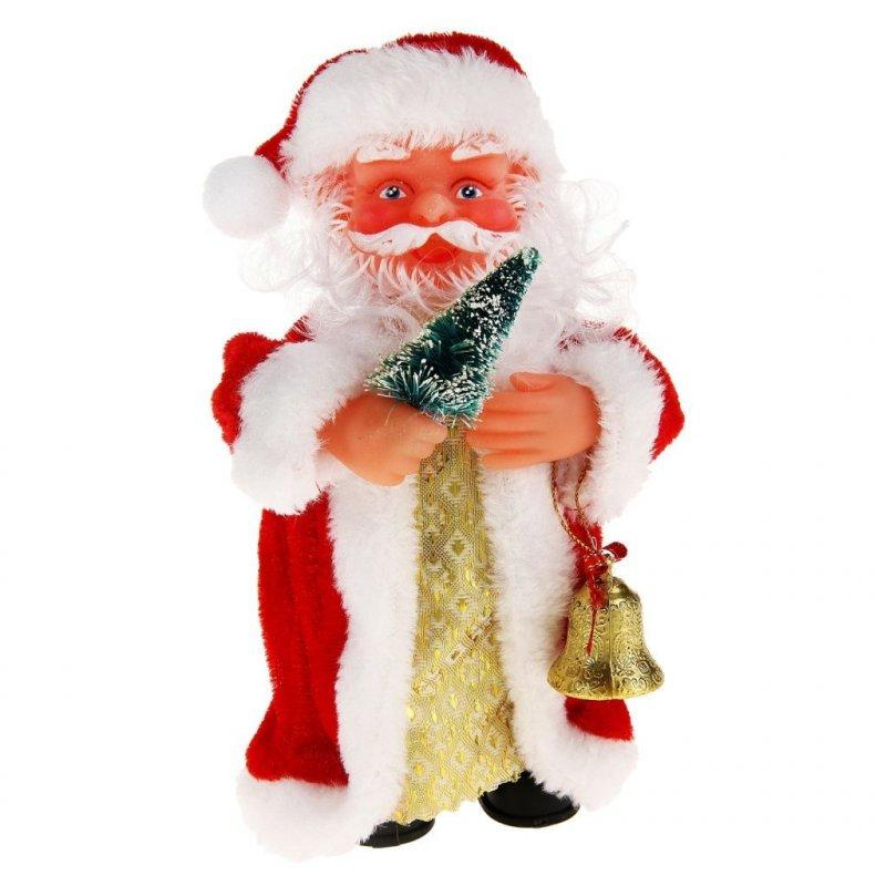 Дед Мороз с колокольчиком музыкальный