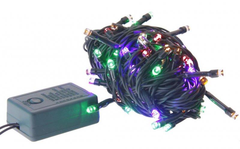 Гирлянда электрич 80ламп 4м 4 цвета Яркий праздник