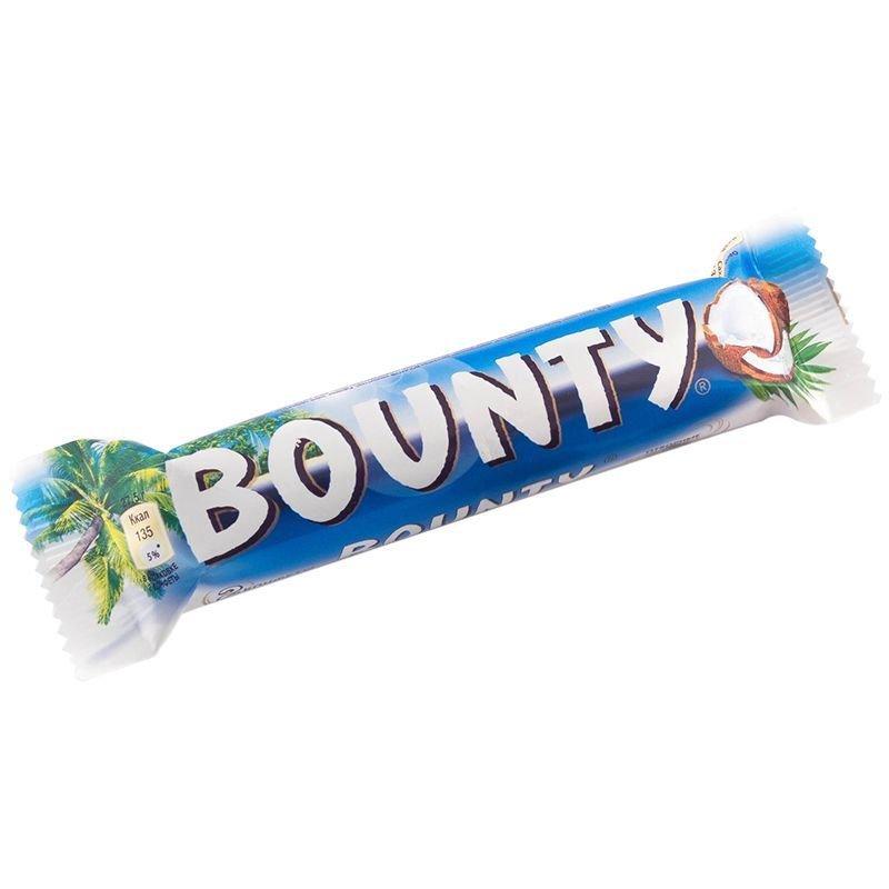Шоколадный батончик Baunty 55г