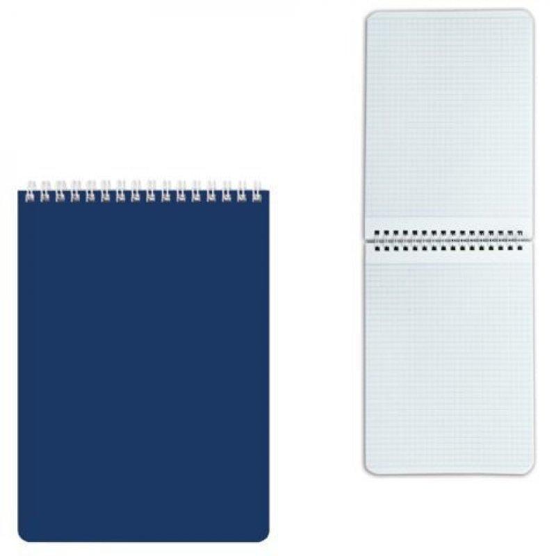 Блокнот А5 60л Hatber ассорти мелованный картон клетка гребень