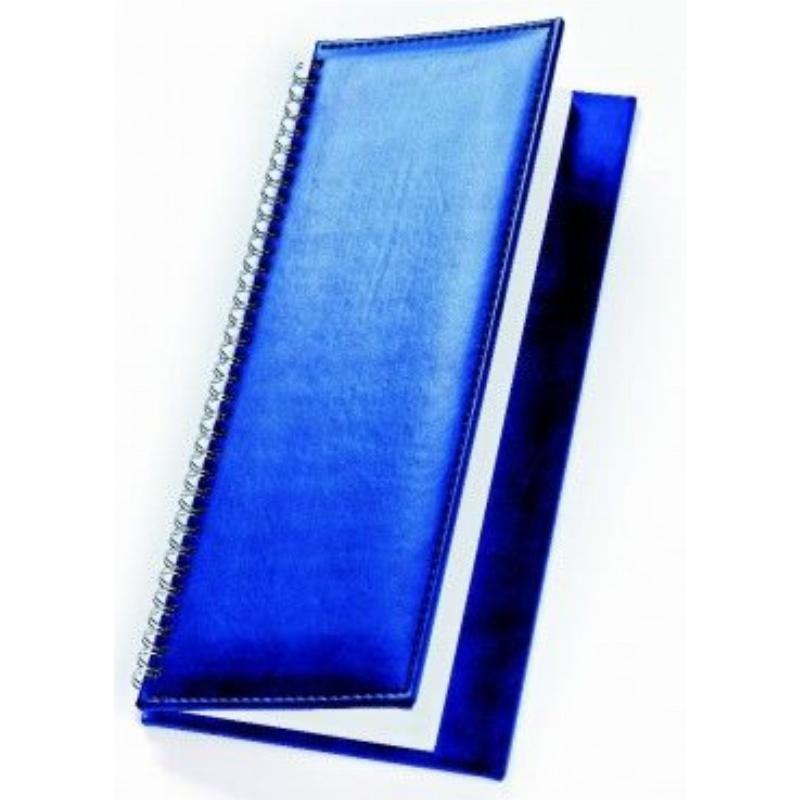 Планинг недат Velvet синий