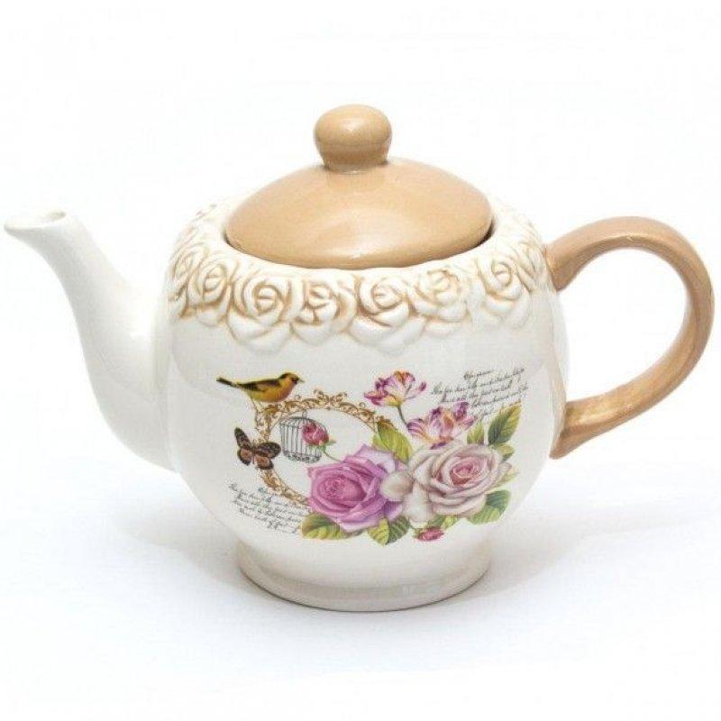 Чайник заварочный 1100мл Жозефина керамика