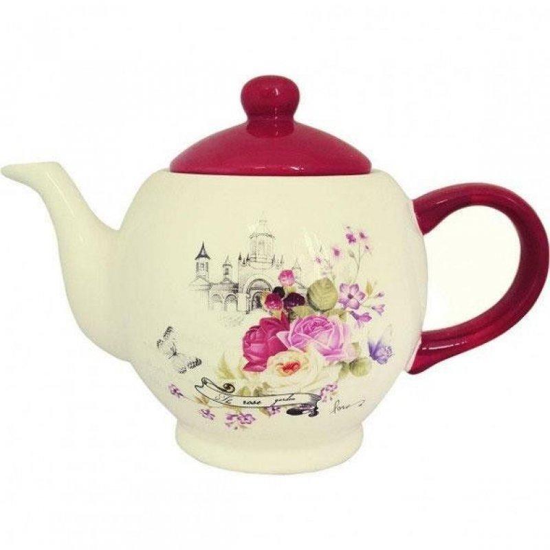 Чайник заварочный 1100мл Жаклин керамика