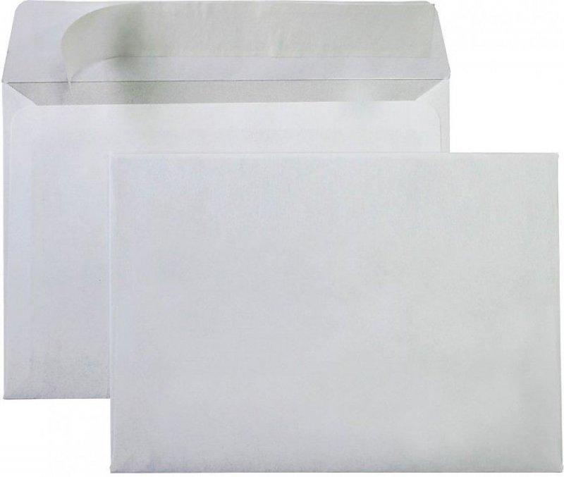 Конверт С4 (229х324мм) белый с отрывной полосой 90г/м2 внутренняя запечатка