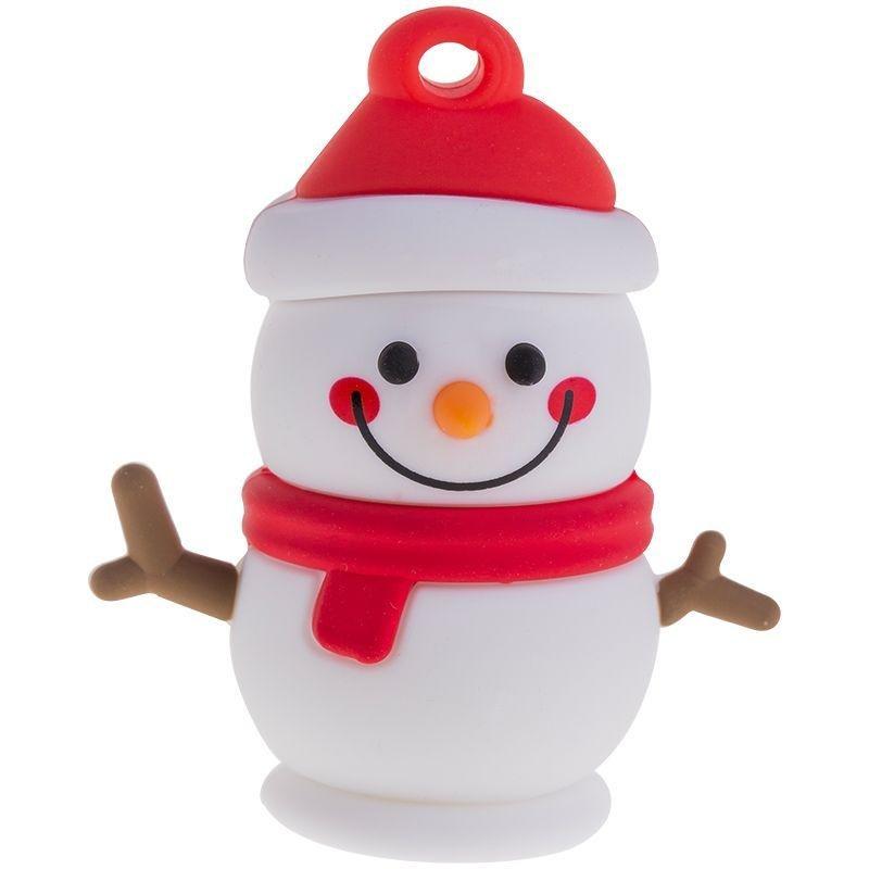 Носитель информации Flash USB 16ГБ Smart Buy Wild Series Снеговик