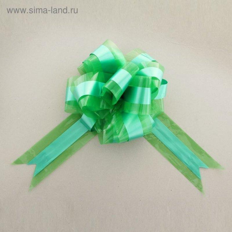 Бант-шар №9 Совершенство зеленый
