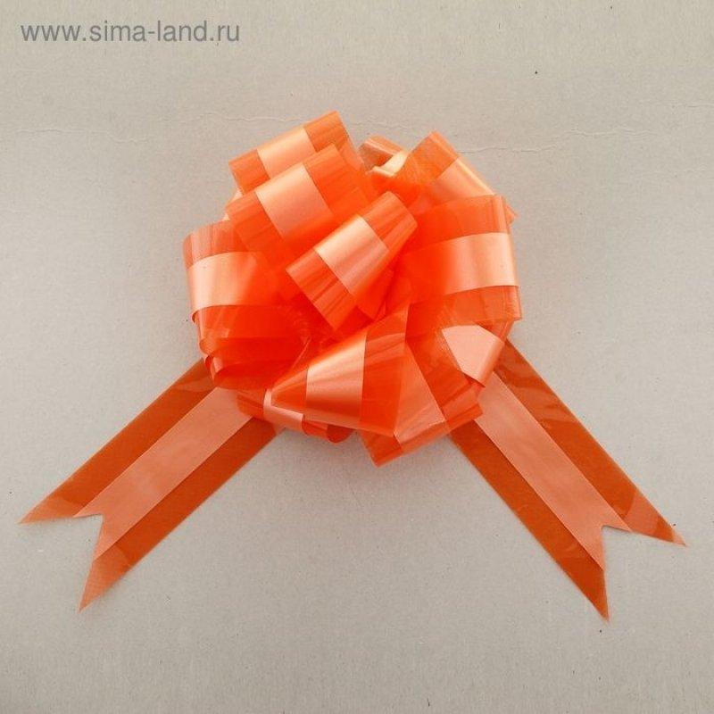 Бант-шар №9 Совершенство оранжевый