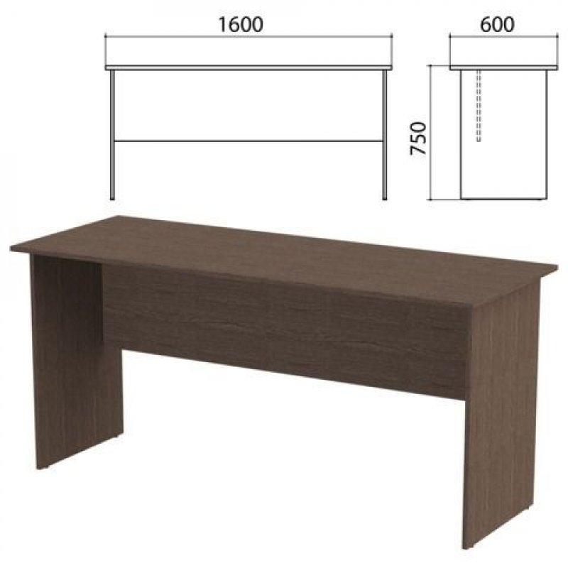 Стол письменный Канц 1600х1200х760мм венге