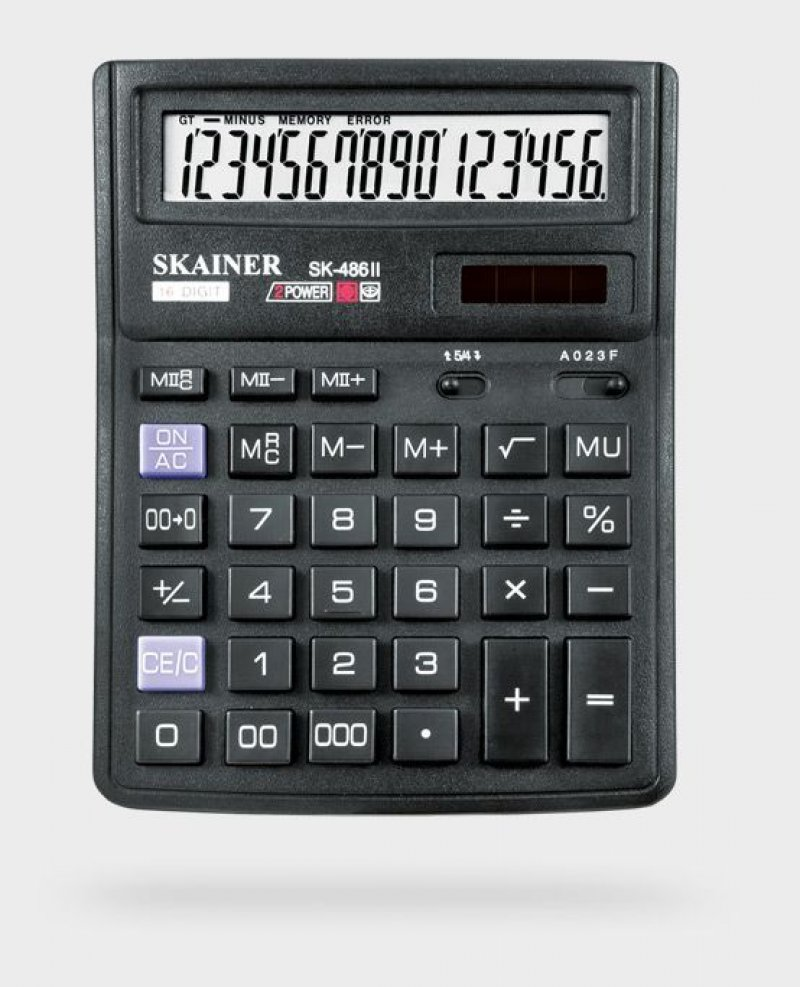 Калькулятор Skainer Electronic SK-486II 143х192мм 16 разр