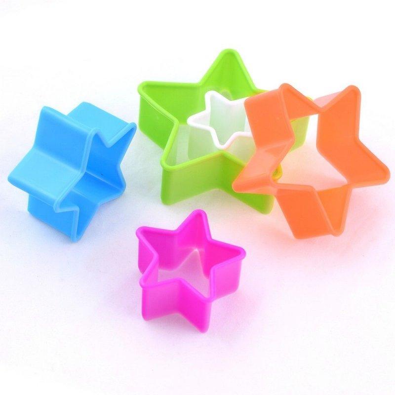 Набор кулинарных форм Звезды 5шт