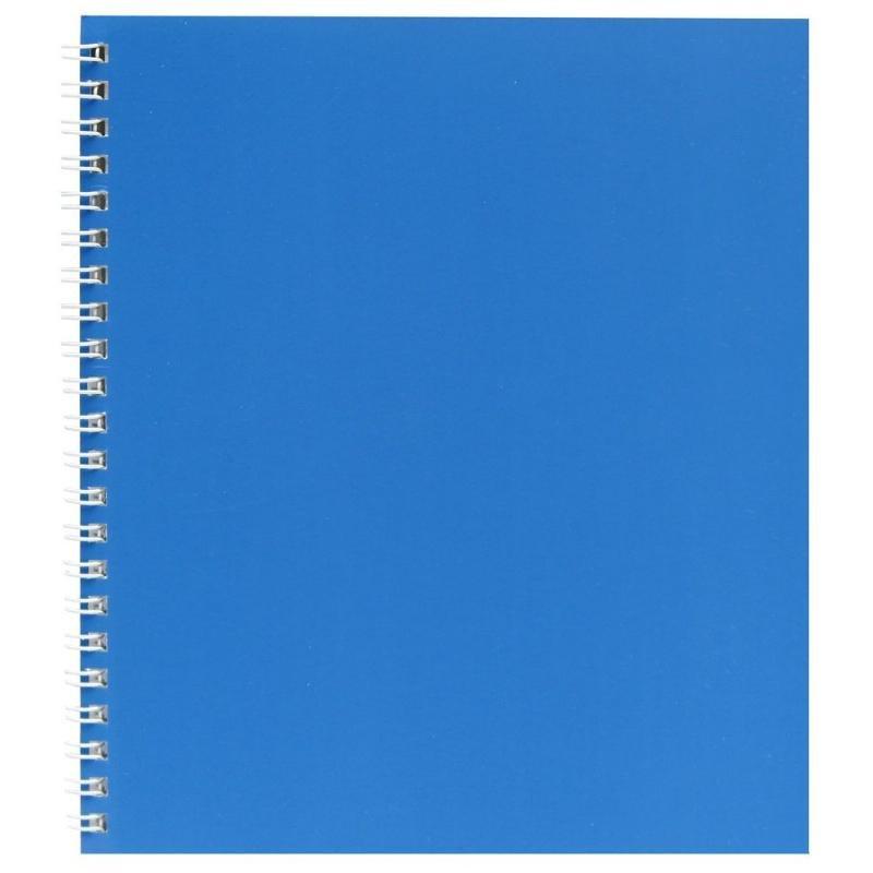 Тетрадь 48л Голубой клетка гребень