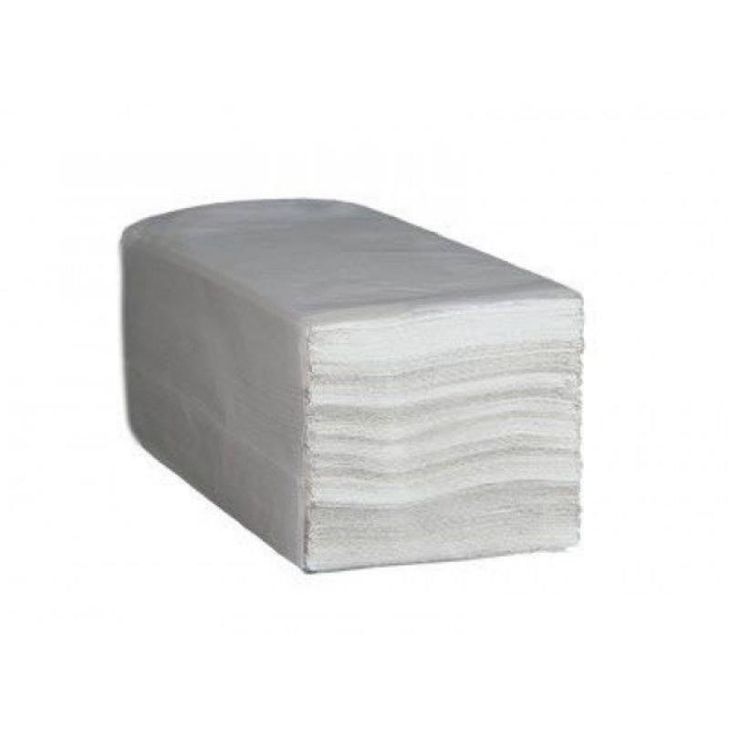 Полотенце бумажное БЧ 1-сл V-слож 230х240мм 250л белое