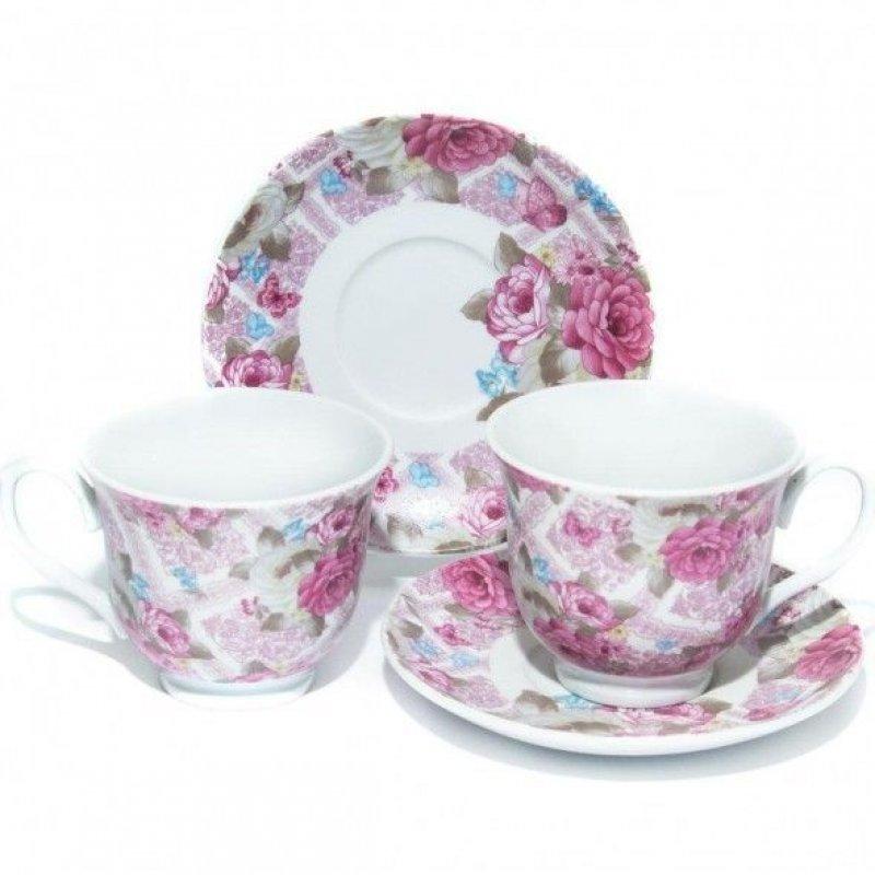 Набор чайный 220мл Гармония 4пр фарфор