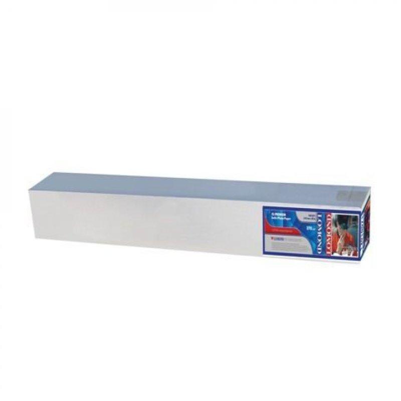 Рулон для плоттера 610мм х 30м вт. 50,8мм 270г/м2 сатин Lomond