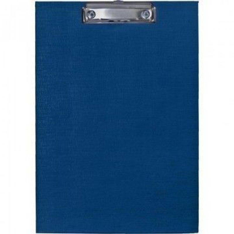 Папка-планшет с зажимом А4 Attache плотный картон синий