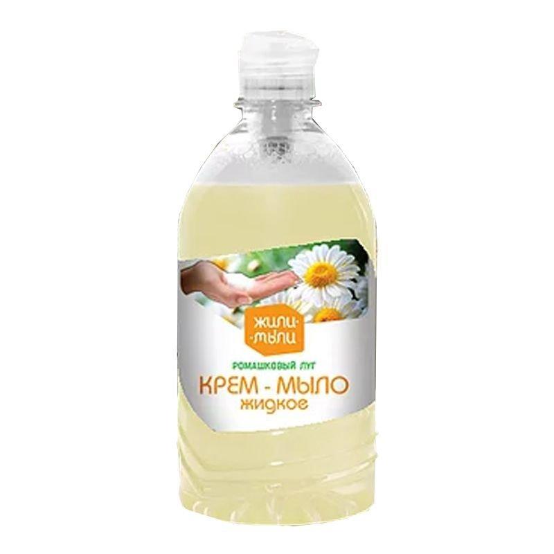 Мыло жидкое 500мл Shine day антибактериальное с ароматом ромашки пуш-пул