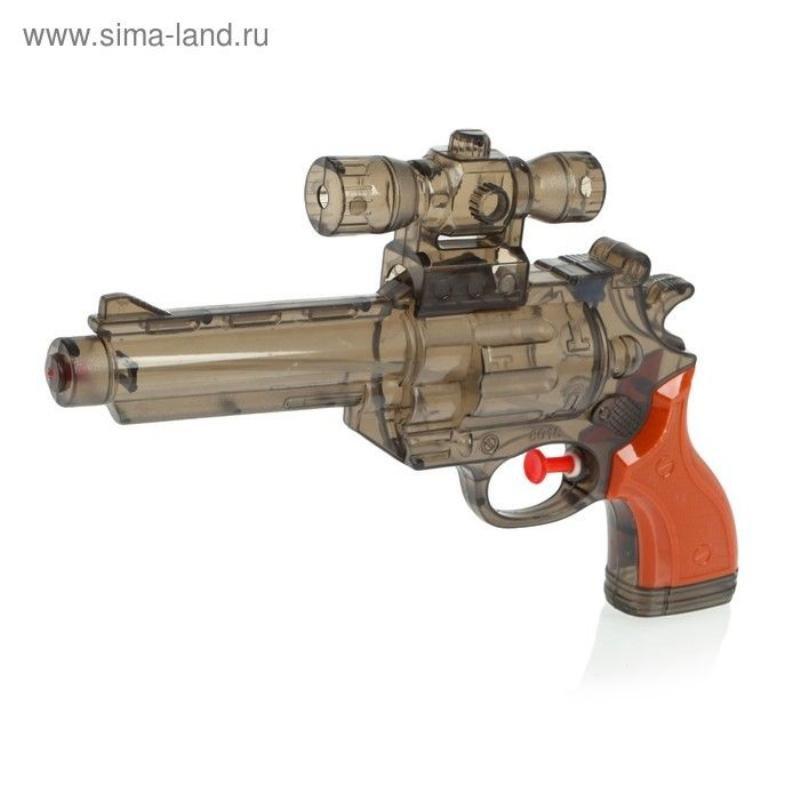 Пистолет водный Шериф