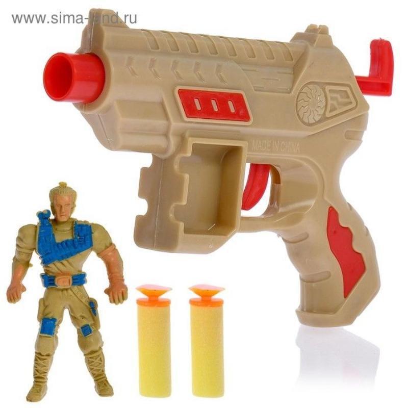 Пистолет Командир с мягкими пулями