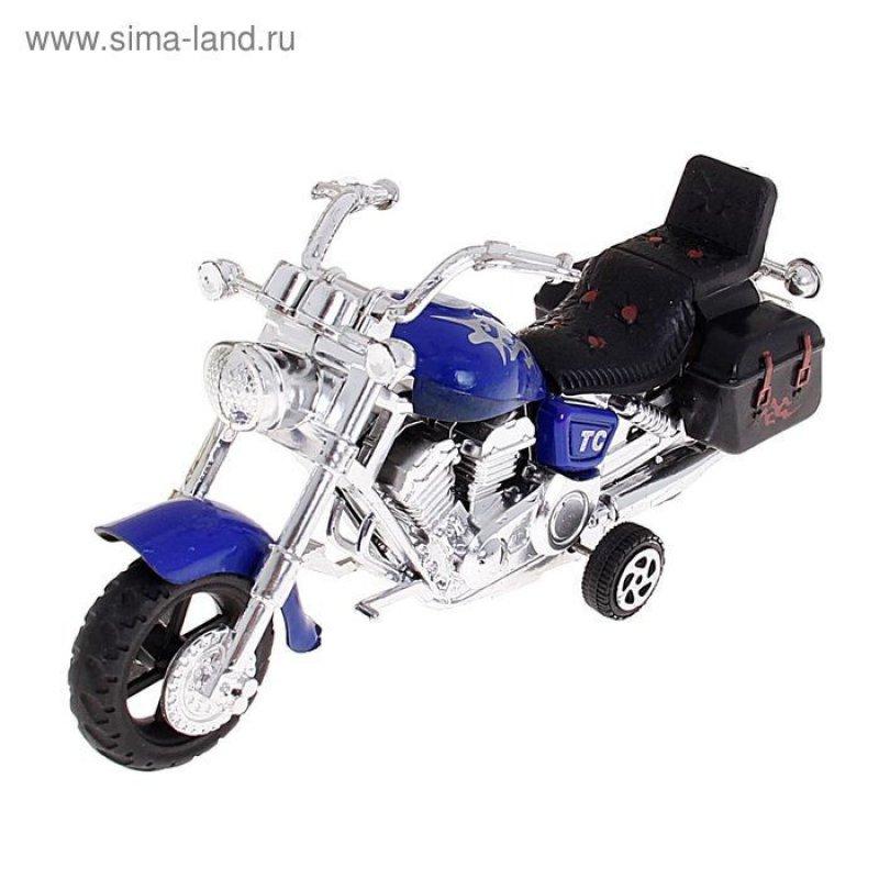 Мотоцикл инерционный Харлей