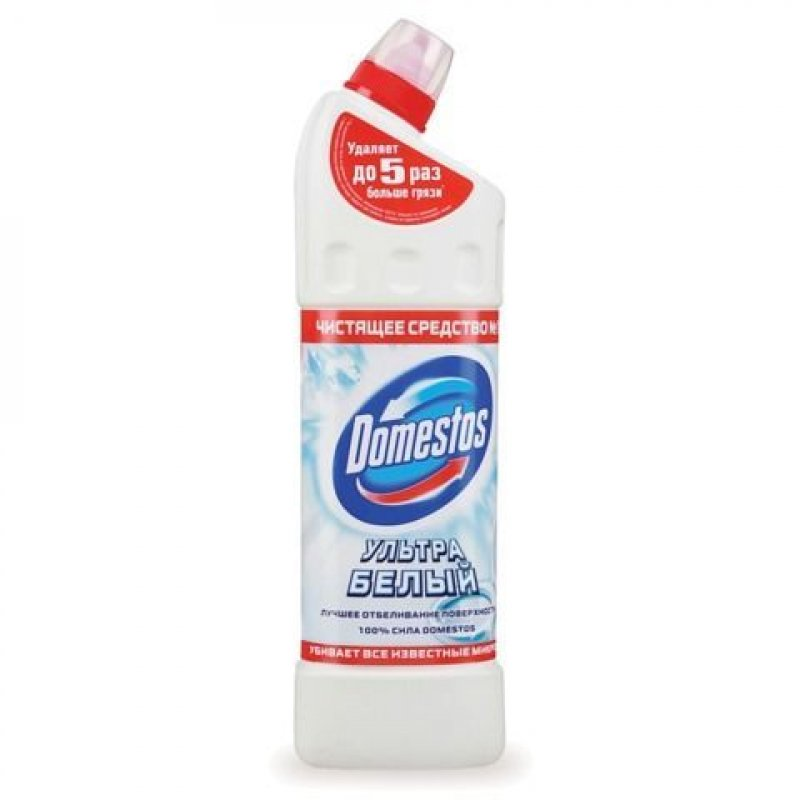 Чистящее средство для сантехники 1л Доместос Ультра Белый