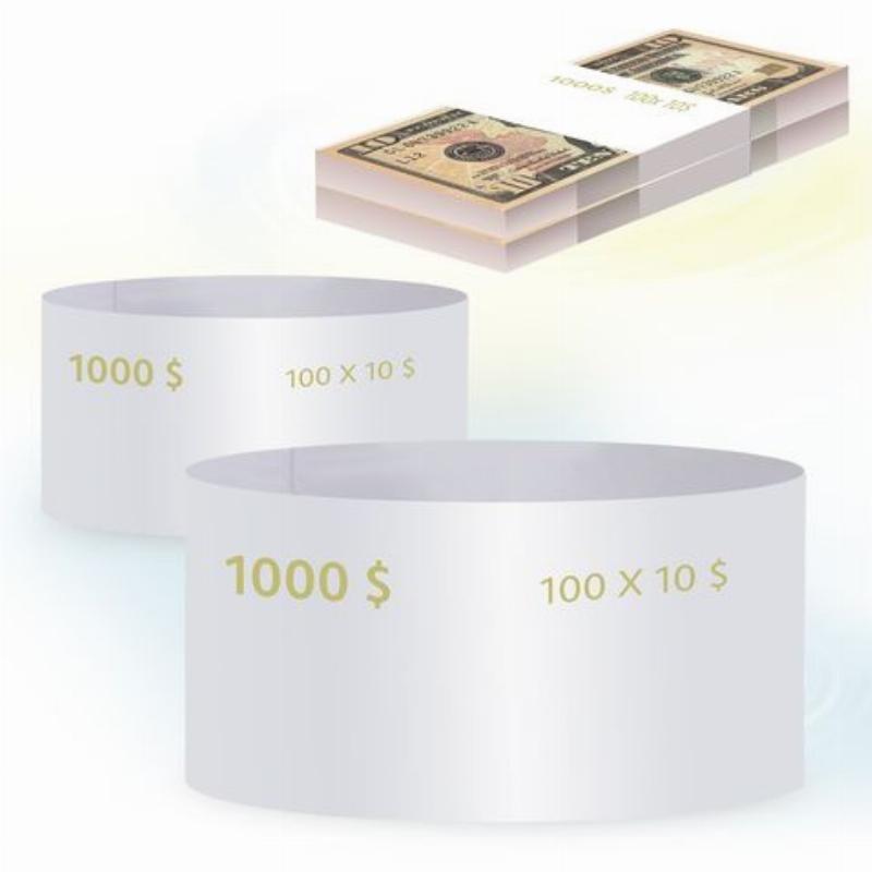 Кольцо бандерольное 10 долларов 500шт/уп