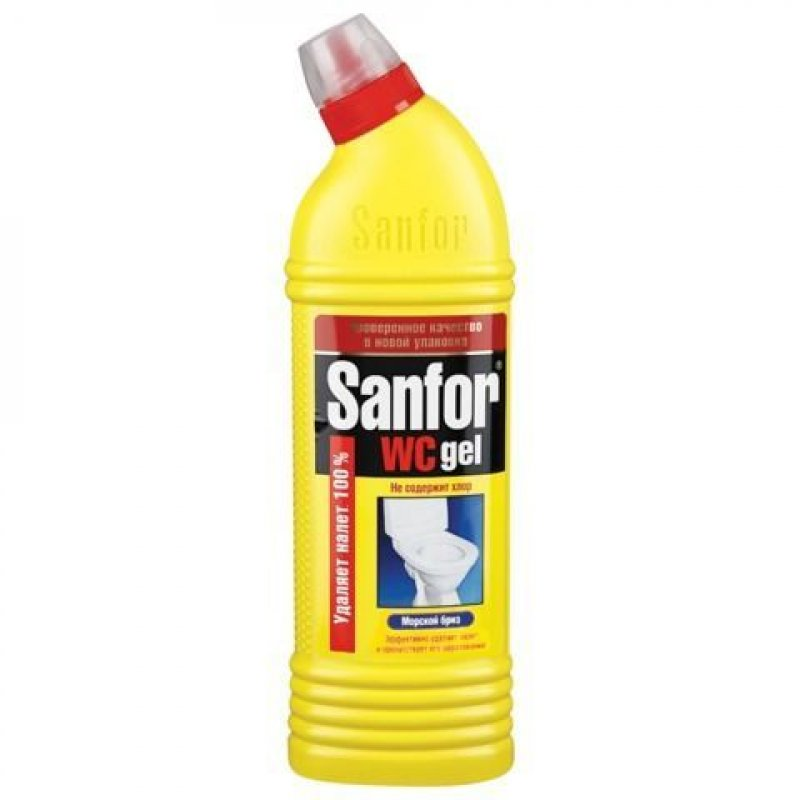 Чистящее средство для сантехники 750м Санфор WS гель