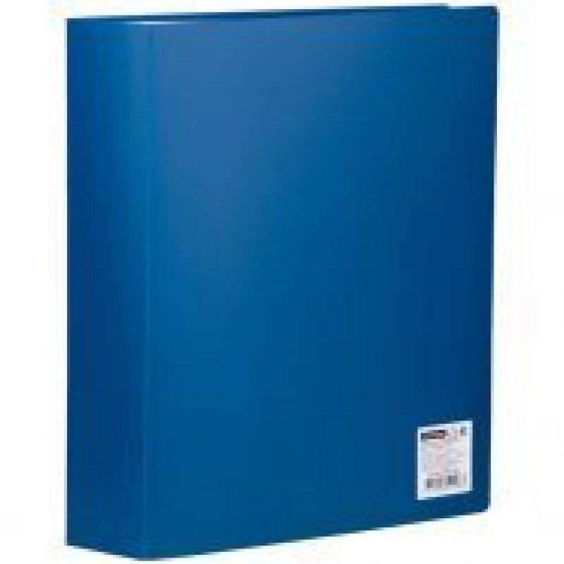 Папка 80 вкладышей OfficeSpace 0,6мм синяя