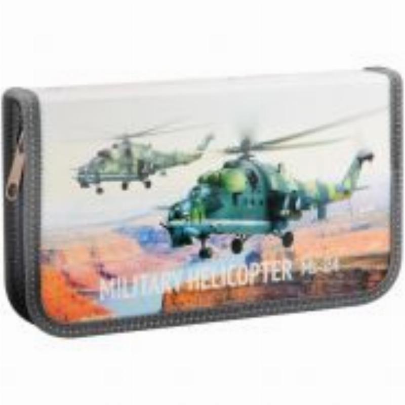 Пенал 1 отд 190х110мм Военные вертолеты