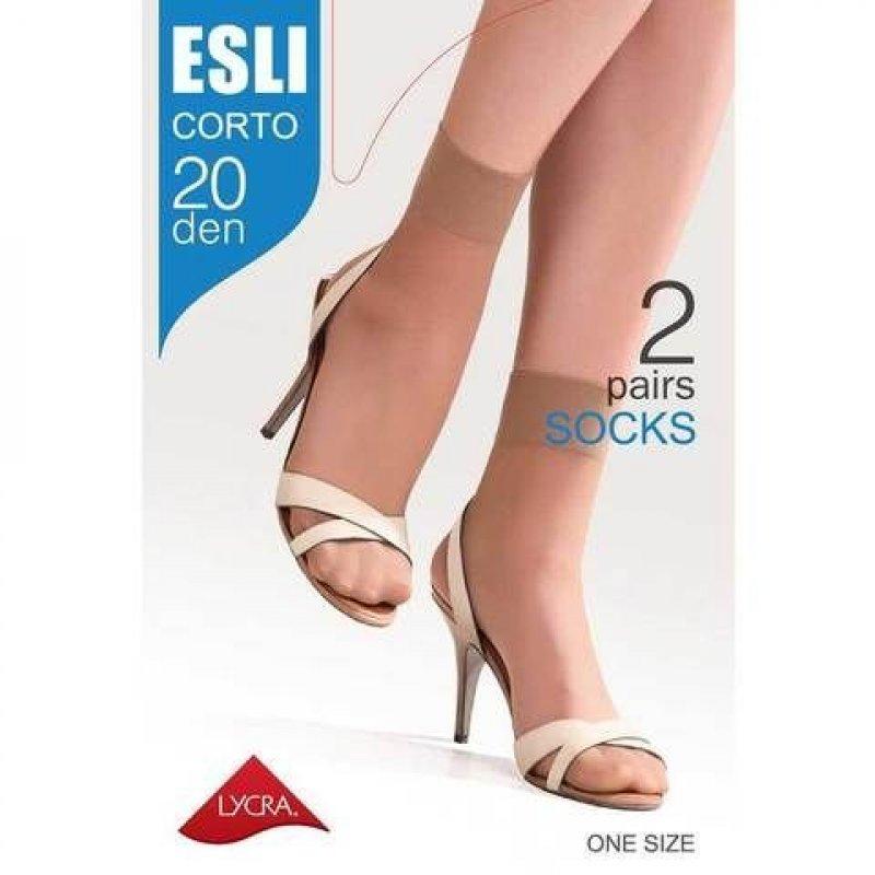 Носки жен Esli Corto 20 р23-25 melone 2пары