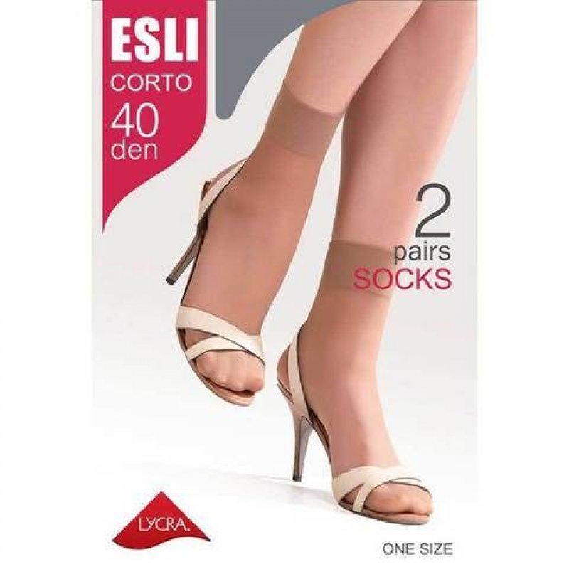 Носки жен Esli Corto 40 р23-25 melone 2пары
