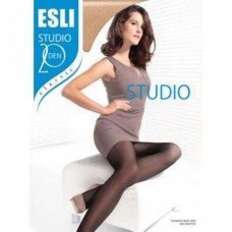 Колготки женские Esli Studio 20 размер 2 visone