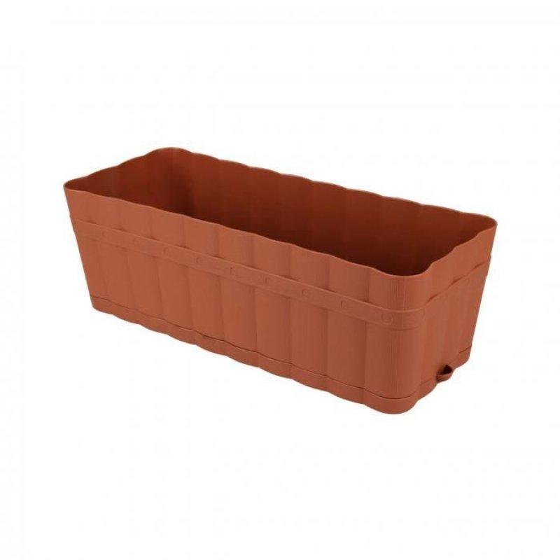 Ящик для цветов 12л Изюминка с поддоном