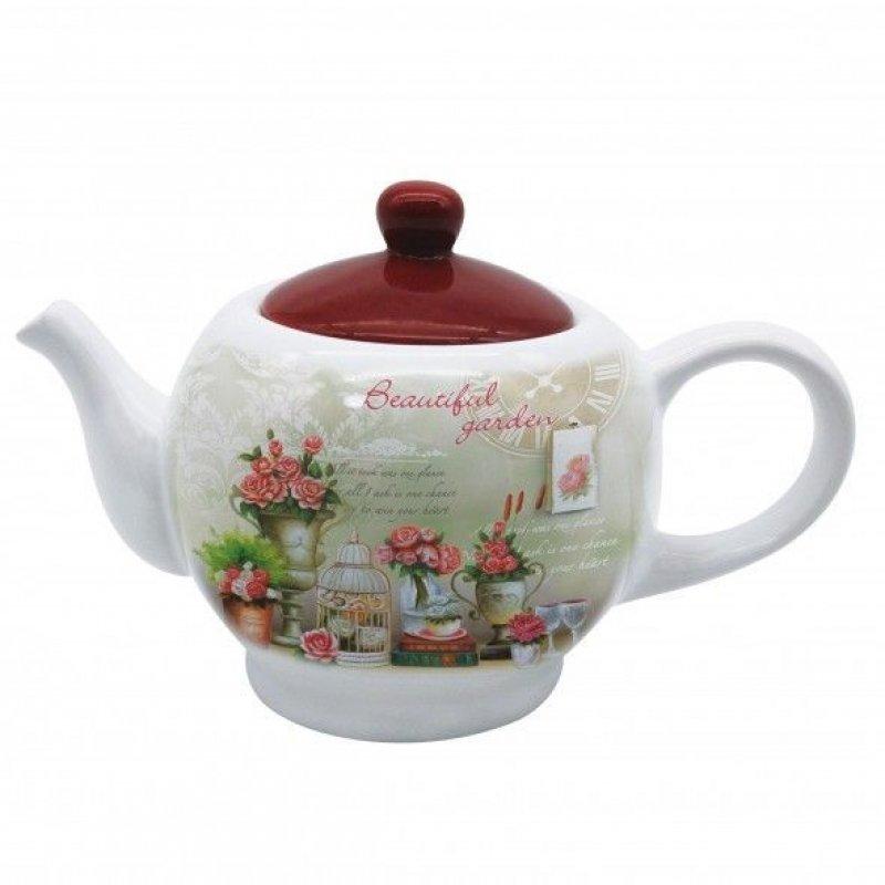 Чайник заварочный 950мл Фиеста2 керамика