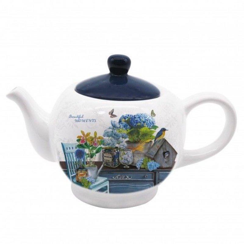 Чайник заварочный 950мл Фиеста3 керамика
