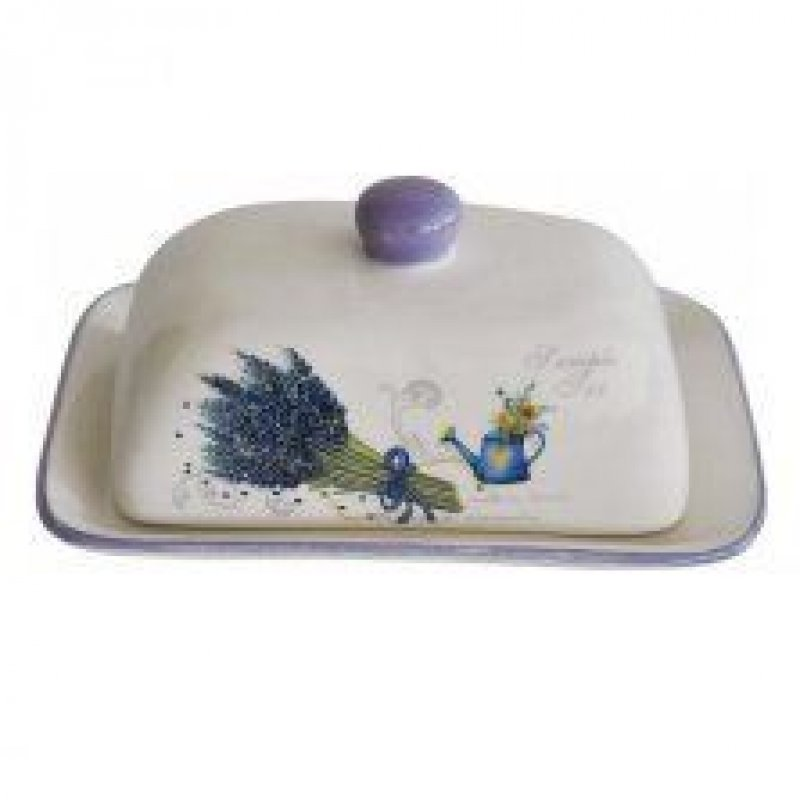 Масленка Сирень керамика