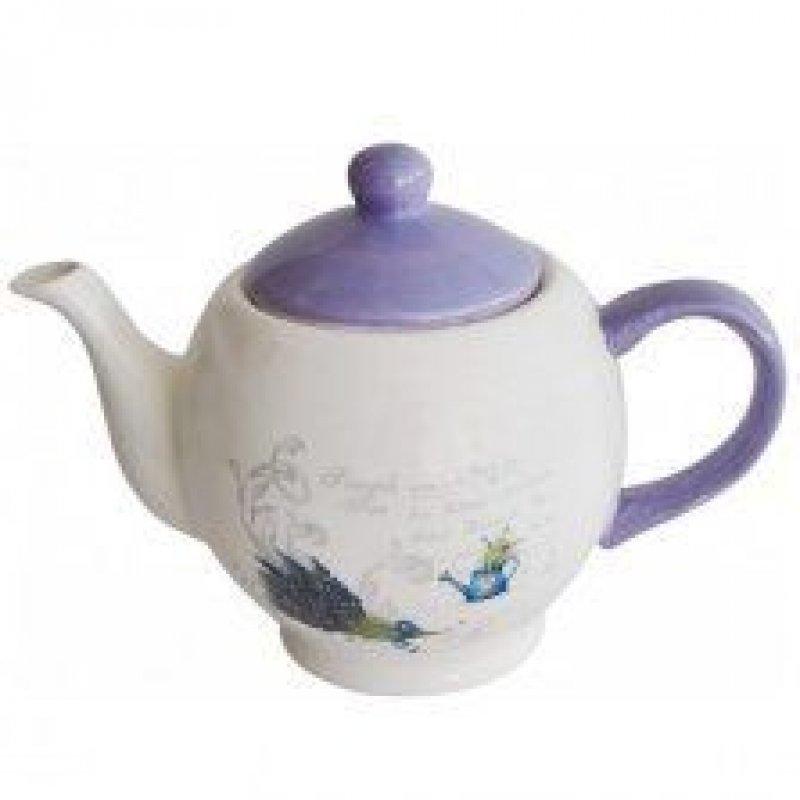 Чайник заварочный 1050мл Сирень керамика