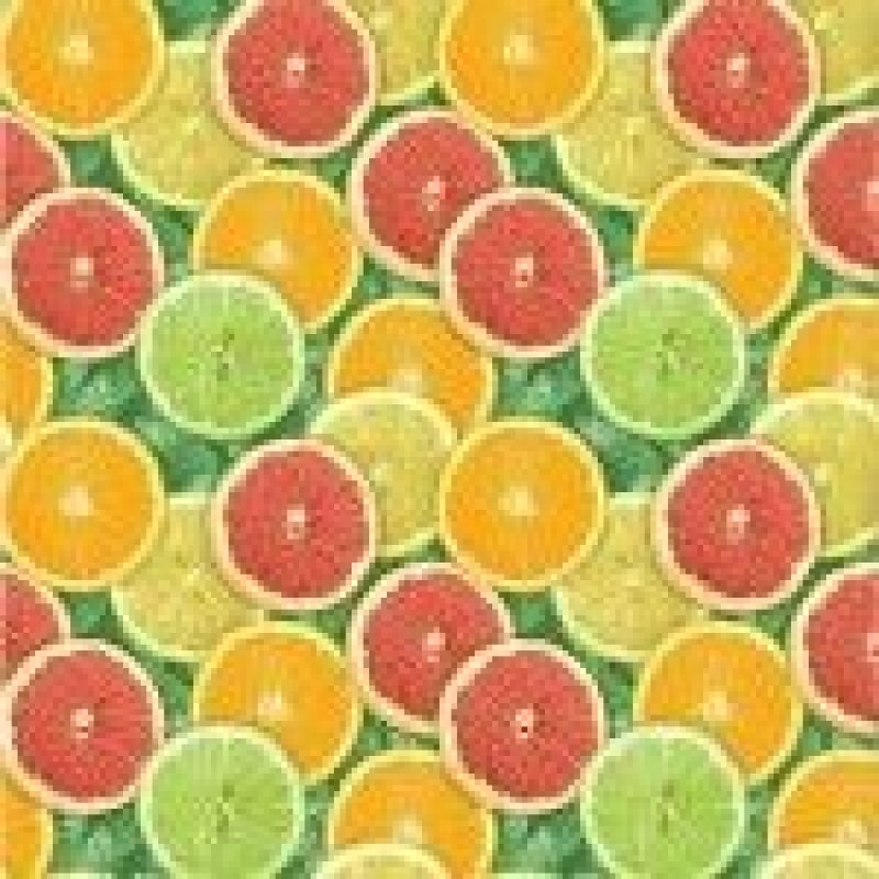 Салфетки 20л Almax Color Collection 33х33см 3сл Цитрусы