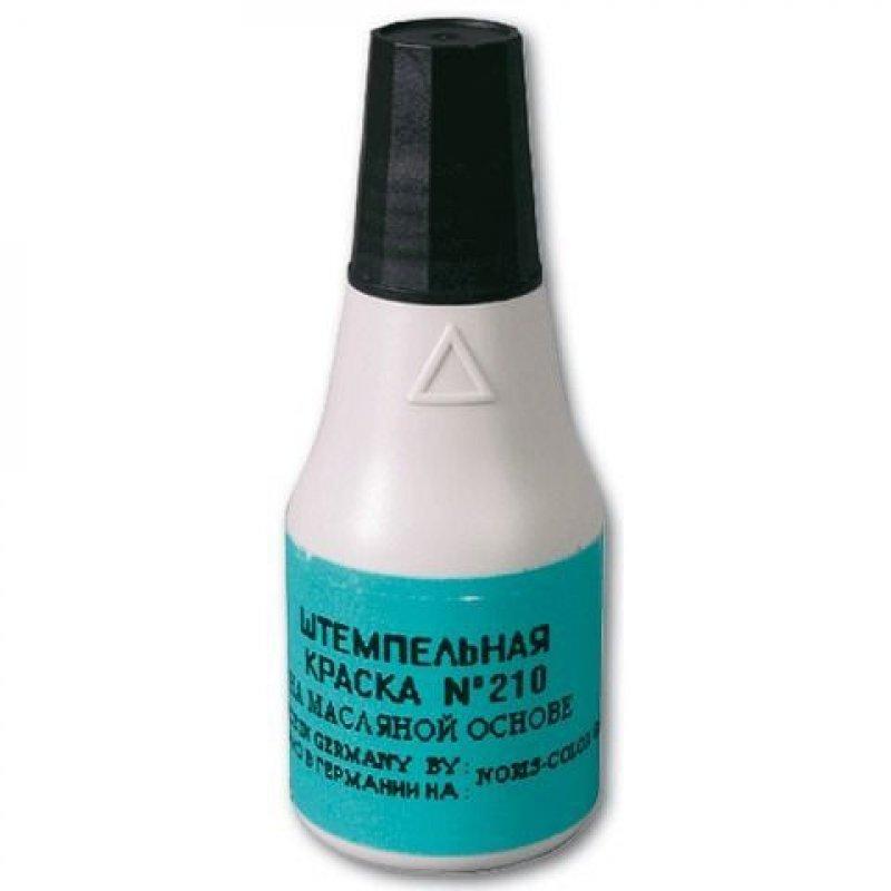 Штемпельная краска Noris 25мл черная на масляной основе для металл. нумераторов