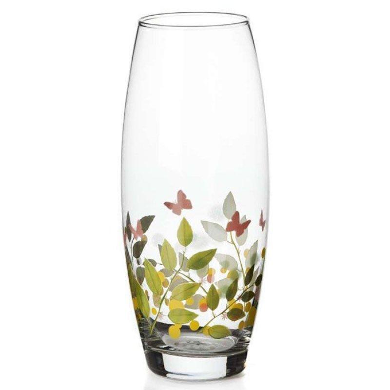 Ваза 26см для цветов Баттерфляй стекло