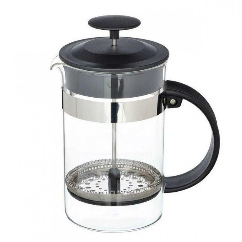 Чайник заварочный 800мл френч-пресс стекло