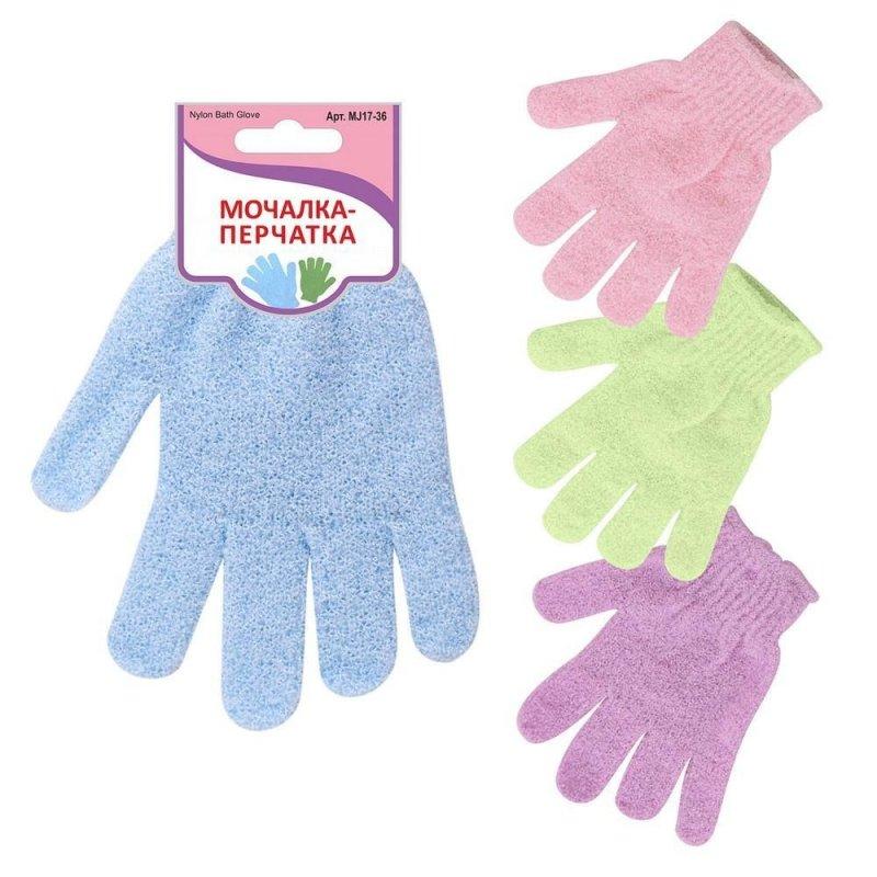 Мочалка перчатка для тела нейлон