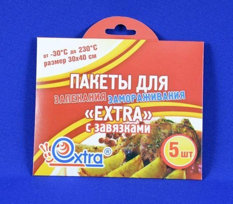 Пакет для запекания Экстра 30х40см 5шт/уп