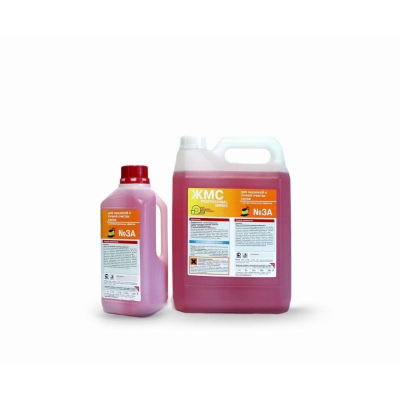 Средство для мытья ЖМС №3 А для машинной и ручной очистки пола 5л